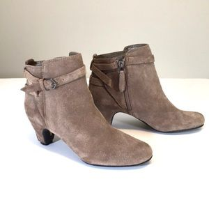 Sam Edelman Maddox New Suede Ankle Booties 6M